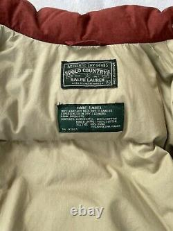 Vintage 90s Polo Ralph Lauren Country Aztec Indian Navajo Puffer Jacket