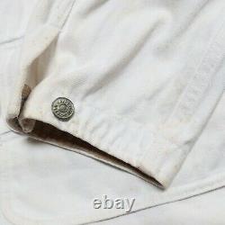 Vintage 90s Polo Ralph Lauren Denim Chore Jacket Size M L Country Western RRL
