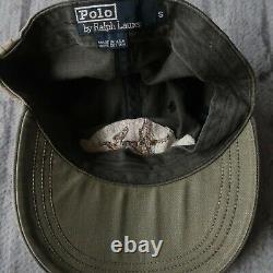 Vintage 90s Polo Ralph Lauren Sportsman Long Bill Hat Cap Made in USA