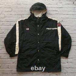 Vintage 90s Polo Sport Ralph Lauren Parka Jacket Size M L