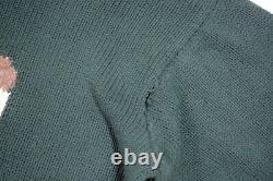 Vintage OG Polo Ralph Lauren 92 Golf Bear Hand knit Sweater Large