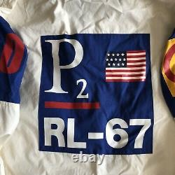 Vintage Original 1993 Polo Ralph Lauren CPRL 93 P2 RL 67 Hoodie USA Jacket XL