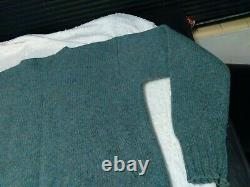 Vintage Polo Country Ralph Lauren Wool Sweater Sportsman Fish Brown Green XL