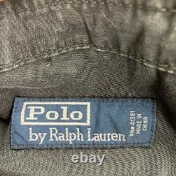 Vintage Polo Ralph Lauren (34x34) Military Paratrooper Pilot Blue Cargo Pant