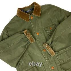 Vintage Polo Ralph Lauren Barn Coat Chore Jacket Size Large