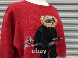 Vintage Polo Ralph Lauren Bear Sweater
