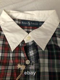 Vintage Polo Ralph Lauren Button Down Fun Shirt Size 2XL XXL