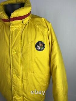 Vintage Polo Ralph Lauren Cookie Ski Goose Down Puffer Bomber Jacket Size Large