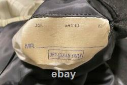 Vintage Polo Ralph Lauren Double Breast Adjustable Pant 2-Pieces Men Suit 38R/31