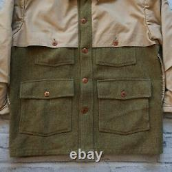 Vintage Polo Ralph Lauren Double Mackinaw Jacket Made in USA Hunting Shooting
