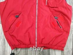 Vintage Polo Ralph Lauren Hi Tech Vest OG Sz M Stadium Pwing Snow Beach 92 93