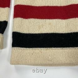 Vintage Polo Ralph Lauren (L) 90s Hudson Bay Sailing Wool Shawl Cardigan Sweater