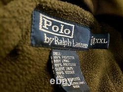 Vintage Polo Ralph Lauren Military Army Jacket Sz XXL