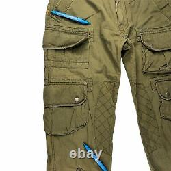 Vintage Polo Ralph Lauren Military Cargo Pants Paratrooper Size 34 X 32 Tatical