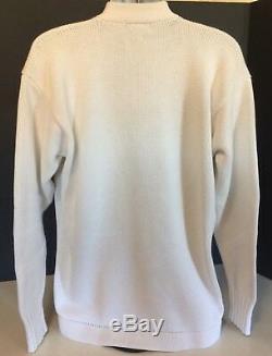 Vintage Polo Ralph Lauren P-Wing Cardigan Knit Sweater L