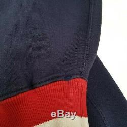 Vintage Polo Ralph Lauren Pwing OG Varsity Track Jacket L P Wing Hip Hop 90s