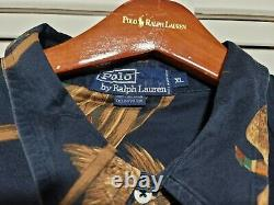 Vintage Polo Ralph Lauren Snowbeach Indian Usa Rare 1992 Bear Shirt Size XL