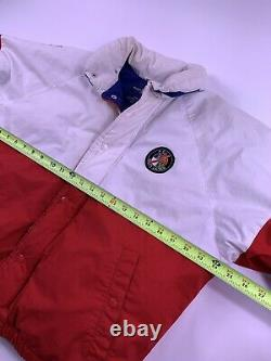 Vintage Polo Ralph Lauren Snowbeach Rare Stadium 1992 Polo Usa Cookie Coat SZ S