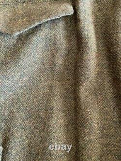 Vintage Polo Ralph Lauren TWEED CARGO Hunting Pants 36 X 31 Downton Abbey