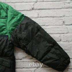 Vintage Polo Sport Ralph Lauren Big Logo Down Jacket Size M S Puffer Puffy 90s