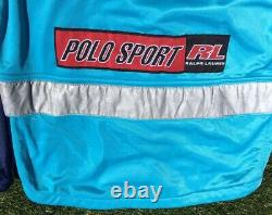 Vintage Polo Sport Ralph Lauren Jacket Cycling Spell Out Rare 90s Mens S