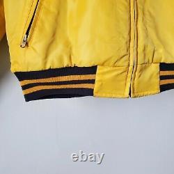 Vintage Polo Sport Ralph Lauren Varsity P Wing Reversible Jacket L Rare