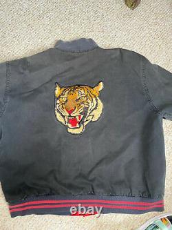 Vintage Polo Sport Tiger Varsity XL Jacket Ralph Lauren Travis Scott Kanye Rare