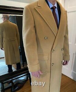 Vintage Ralph Lauren Camel Hair Blend Polo Coat