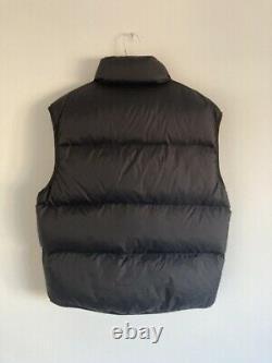 Vintage Ralph Lauren Navy Polo Jeans puffer Gilet jacket coat Black Mens Medium