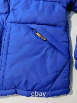 Vintage Ralph Lauren Polo Sport Puffer Jacket Men's Large/Medium Blue Spellout