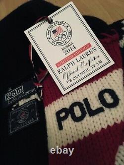 Vintage Ralph Lauren Polo Team Usa Ceremony Olympic Cardigan Stadium Snow Beach