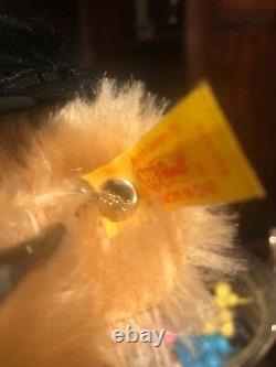 Vintage Ralph Lauren Steiff Polo Bear Racer 35CM #665424 Mint Condition