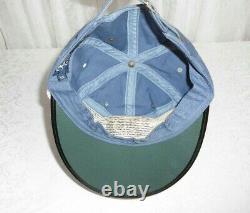 Vintage Rare Polo Ralph Lauren Ralphs Marina Long Bill Vented Hat Made in USA