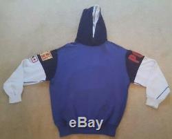 Vintage polo ralph lauren hooded hoody P2 sweatshirt Pwing Stadium 1992 crest