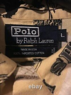 Vintage polo ralph lauren outdoorsman button up shirt size L