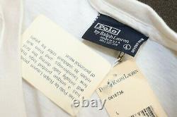 Vtg NWT ORIGINAL Polo Ralph Lauren SLAM Tennis Tee T-Shirt L 92 93 Sport
