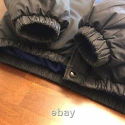 Vtg Polo Ralph Lauren Goose Down Suicide Ski Puffer Jacket Small