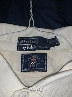 Vtg Polo Ralph Lauren Stadium Olympic Rugby Shirt XL 1992 snow beach Sport Bear
