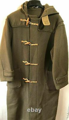 Vtg Ralph Lauren Polo Toggle Rugby Military Trench Coat S/M/L/XL Sport Country