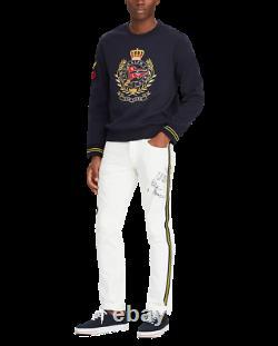 XLPolo Ralph Lauren Crest Sweatshirt Vintage CP93 Hi Tech Ski92 Pwing Stadium